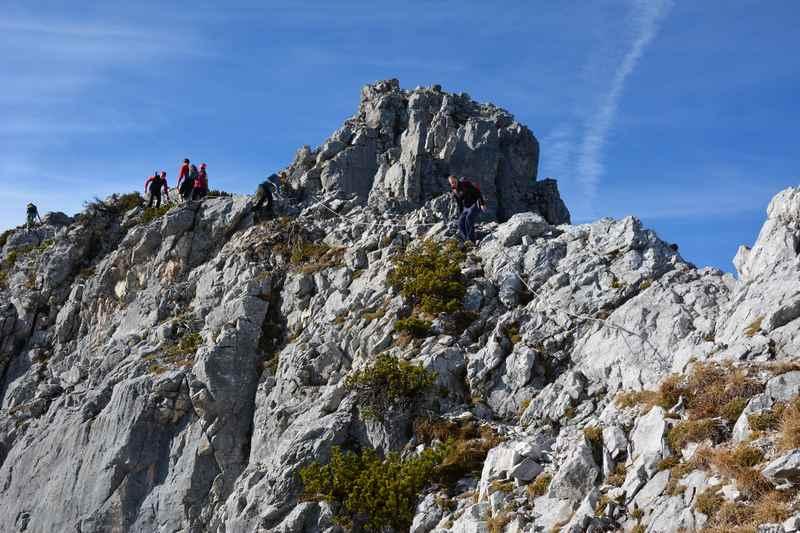 Klettersteig Walchensee : Hundskopf klettersteig im karwendel gnadenwald
